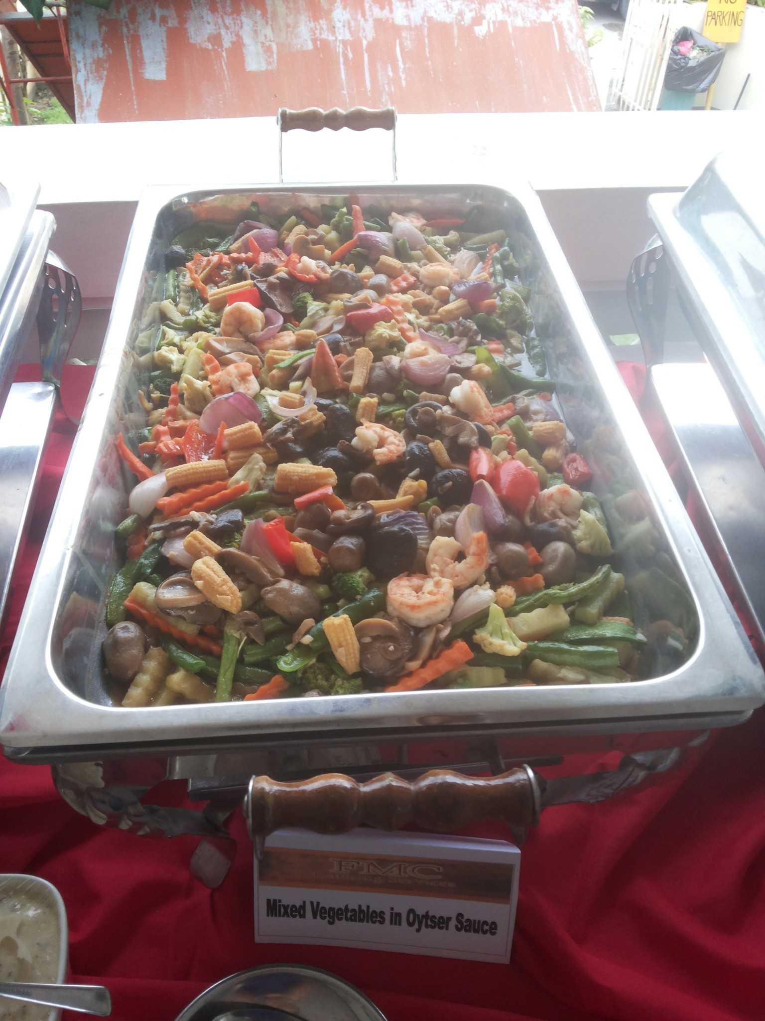 Mixed Vegtables in Oyster Sauce