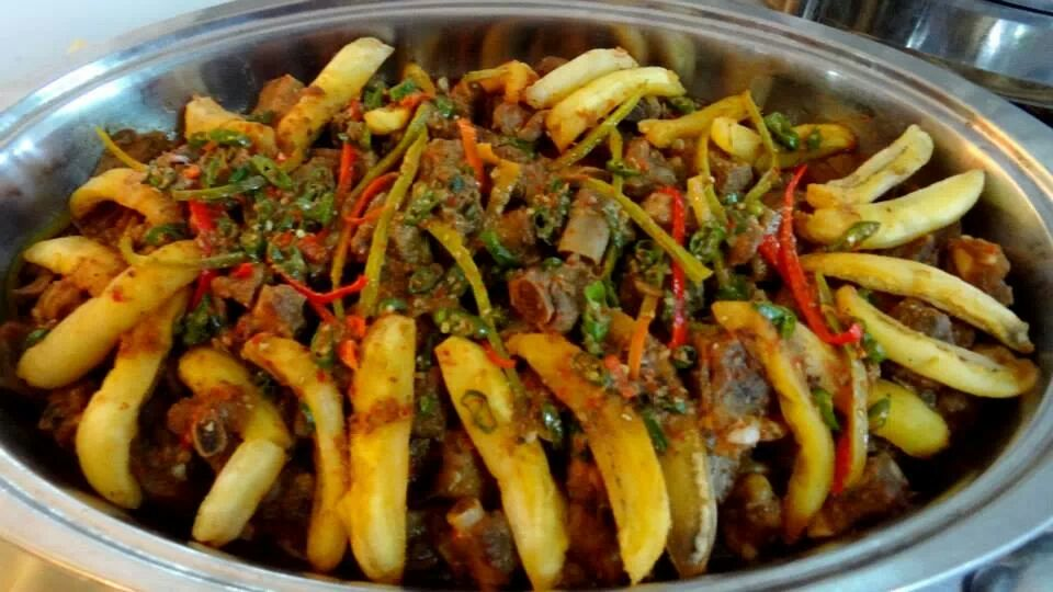 Spicy Pork Ribs of FMC Catering Services